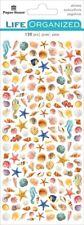 Scrapbooking Stickers Crafts Ph Micro Sea Shells Beach Star Fish Horse Repeats