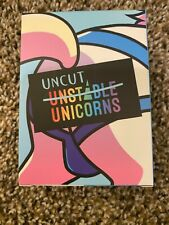 New ListingUnstable Unicorns Original Kickstarter Uncut Unicorns Expansion