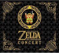 Legend of Zelda 30th Anniversary Concert 2CD+DVD Limited Edition Japan Import