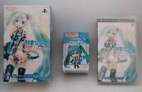 [Open Box] PSP Hatsune Miku Project Diva Dekkai ver. w/ Figure Japan vocaloid
