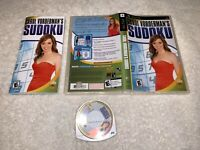 Carol Vorderman's Sudoku (Sony PSP, 2007) PlayStation Portable Complete Exc!