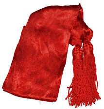 American Civil War Union Or Confederate Reproduction NCO Red Silk Sash