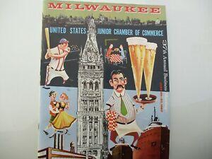 JAYCEE'S ANNUAL MEET, MILWAUKEE 1957, 17 PIECES