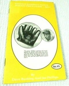 Vintage Baseball Glove Price Guide 2000 40 Pages Information Joe DiMaggio Cover
