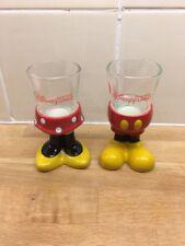Disneyland Hong Kong Mickey Minnie Mouse Eggcups Vgc