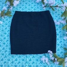 Forever 21 Textured Mini Skirt - Teal (Size Small)