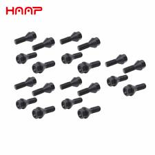 HAAP Set of 20 Wheel Lug Bolt for BMW E39 E46 E53 E60 E90 1988-2016 36136781150