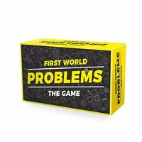 Adult Board Game First World Problems Game Fun Novelty Gift