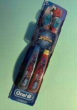 2 kids oral-B toothbrush 5-7 yrs.. Marvel Spider-Man NEW SOFT