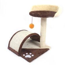 "19"" Cat Tree Tower Condo Furniture Scratching Post Pet Mat Kitten Play House"