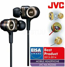 """Nuevo SONIDO JVC HA-FXZ200 """"real"""" Serie Z Premium Auriculares con woofer de flujo"""