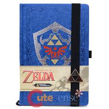 Legend of Zelda Hylian Shield Premium Journal Notebook Sketchbook Nintnedo Note