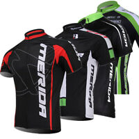 Men's Cycling Jerseys Mountain Bike Short-Sleeved Clothes Breathable Shirt Tops