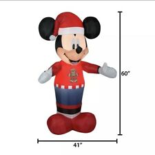 Disney 5 Foot Mickey Mouse Christmas Holiday Airblown Inflatable NEW Gemmy 2020