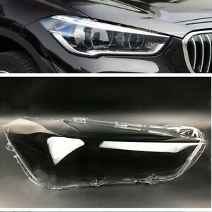 For BMW X1 2016-2018 Headlight Lens Car Headlamp Cover Auto Shell Right Side
