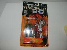 1997 Kenner Terminator 2 3-D John Connor with Motorcycle Action Figure ON CARD
