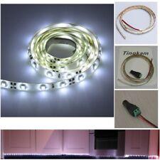 1M white 12V 2835 LED waterproof flexible light strip Bedroom/closet/warehouse