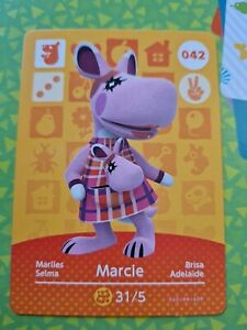 Animal Crossing Amiibo Marcie 042