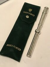 Topazio Silver Plated Antique Pen.-C262