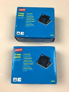 2 x 2 HOLE PUNCH WHICH WILL PUNCH UP TO 20 SHEETS AT A TIME STAPLES BOXED