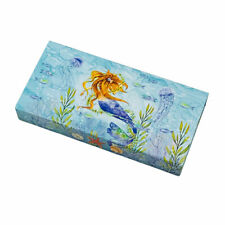 Punch Studio Ocean Mermaid Pencil Jewelry Decorative Desk Organizing Box