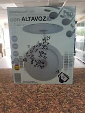 DOWNLIGHT LED MUSICAL 18W. CON ALTAVOZ BLUETOOTH 4000K. BLANCO. ILUMINACIÓN LED.