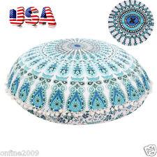 Large Round Mandala Meditation Floor Pillows Tapestry Bohemian Pouf Throw HOT US