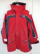 MUSTO PERFORMANCE BR1 SAILING INSHORE RED JACKET COAT - Size: XXLARGE