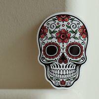 Skull Skateboarding Calavera Mexicana 8x5.5cm DECAL STICKER #2406