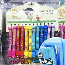Small Dog Collar Pet Collars Puppy Cat Necklace Strap Yorkshire Gift 12PCS/ Lot