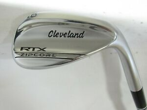 Used RH Cleveland RTX ZipCore Single 60.06 Lob L Wedge - DG Wedge Flex Steel