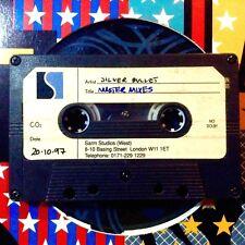 silver bullet - cassette * UNRELEASED ALBUM MASTER MIXES * !!