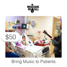 $50 Charitable Donation To Bring Music to Patients and Caregivers