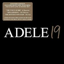 Adele 19 CD  Expanded Edition (Double Cd) Brand New Factory Sealed Music