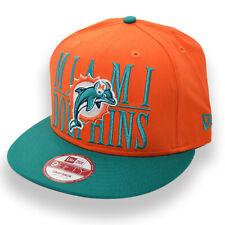 NEW ERA MIAMI DOLPHINS NFL SNAPBACK CAP