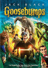 Goosebumps (DVD, 2016) JACK BLACK - NEW!!