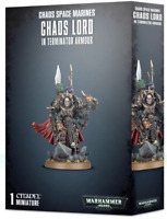 Chaos Lord in Terminator Armor Warhammer 40K Chaos Space Marines NIB Flipside