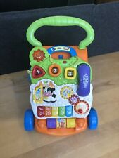 New listing Vtech Baby Push Walker Sit-to-Stand Toddler Interactive Learning Toy
