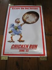 CHICKEN RUN POSTER 27 x 40 - DBL SIDE ADV - FRYING