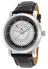 Lucien Piccard Ruleta Date Indicator Mens Watch LP-40014-02S-BC