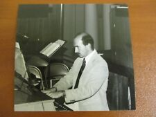 Vtg Glossy Press Photo Choral Conductor David Carrier Wellesley Village Church