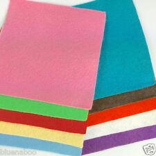 10 Fieltro De Lana Cuadrados 4 X 4 Pulgadas-Colores Mezclados
