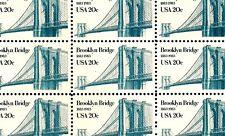 1983 - BROOKLYN BRIDGE - #2041 Full Mint -MNH- Sheet of 50 Postage Stamps