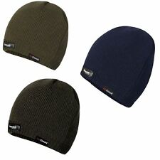 Mens Pro Climate Waterproof Windproof Genuine Thinsulate Knitted Beanie Hat