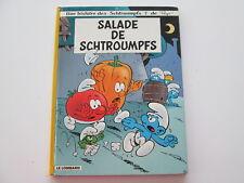 SCHTROUMPFS T24 BE SALADE DE SCHTROUMPFS REEDITION