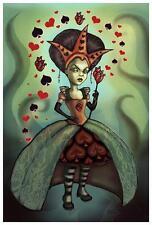 Queen of Hearts by Diana Levin Fine Art Print Fairy Tale Alice in Wonderland
