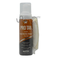 Pro Tan Muscle Up Instant Body Builder Bronze Top Coat 7oz w/FREE Nail File