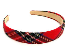 Tartan Aliceband Headband Ladies Hair Accessories Hair Band Houndstooth