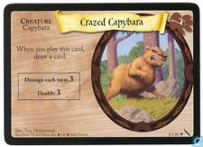 Harry Potter TCG Chamber of Secrets Crazed Capybara 8/140