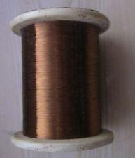 """25,0 m. FIL DE MANGANINE 0,03 mm / 0,0012 """"Isolation - émail."""